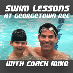 Swim Lessons with Coach Mike